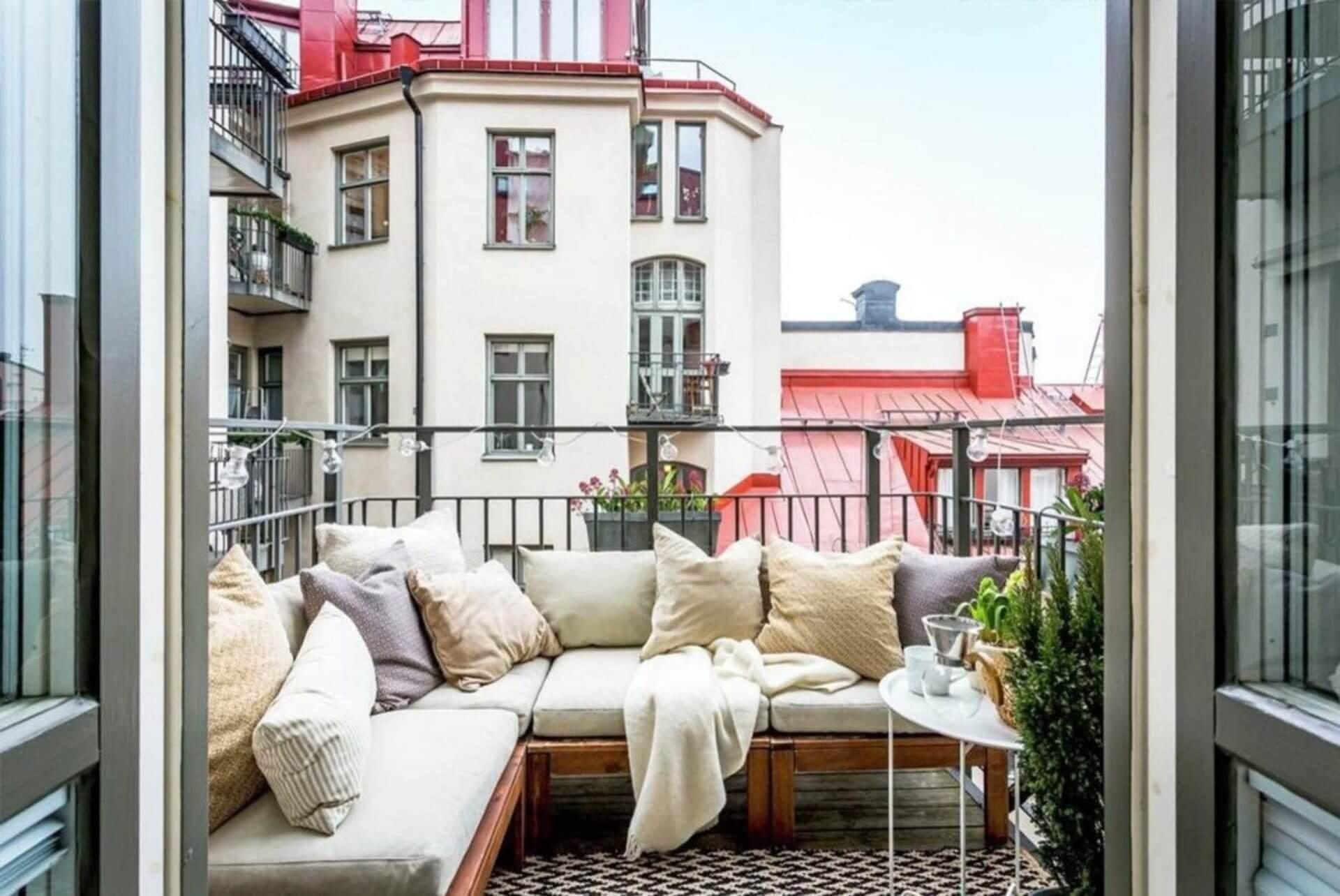 дизайн балкона и лоджии фотография