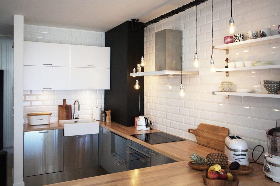 свет для кухни 6 кв м фото