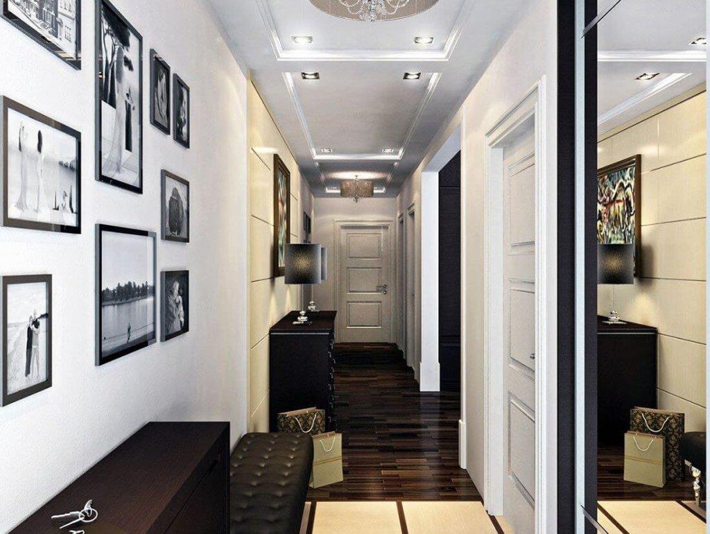 фотографии как декор в коридоре