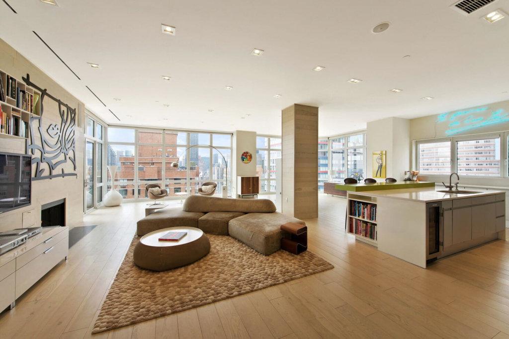 цветовое решение для квартиры со свободной планировкой фото