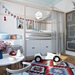 дизайн интерьера комнаты для мальчика фото