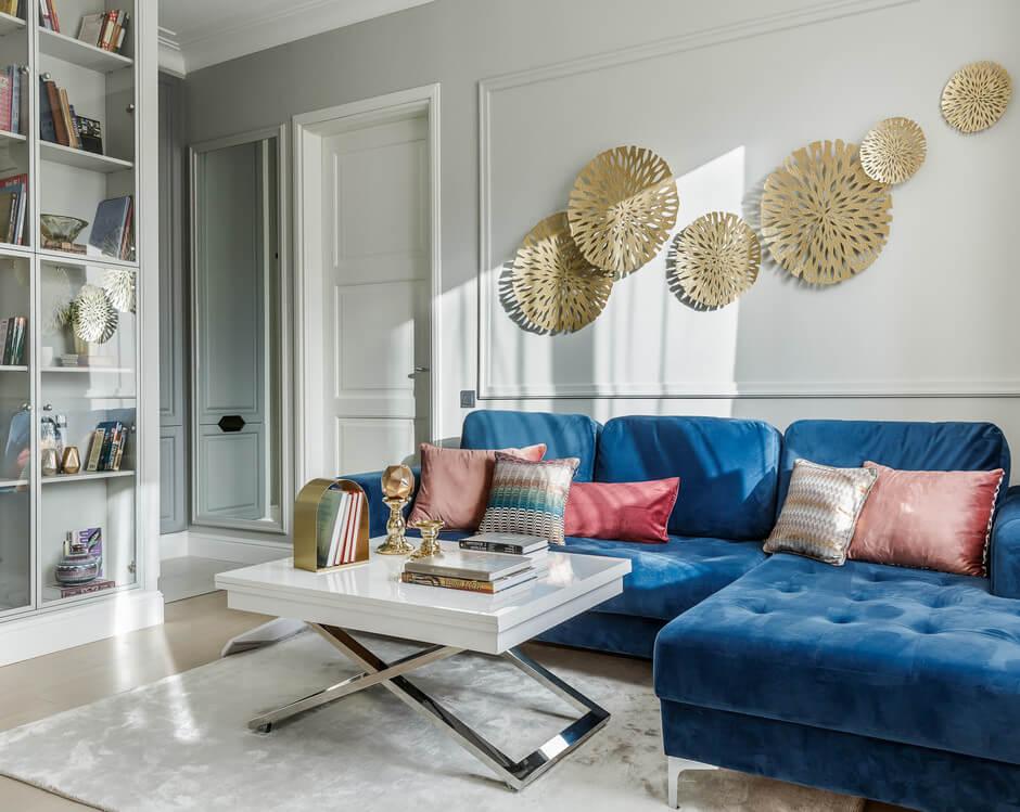 цветовое решение для квартиры-студии фото