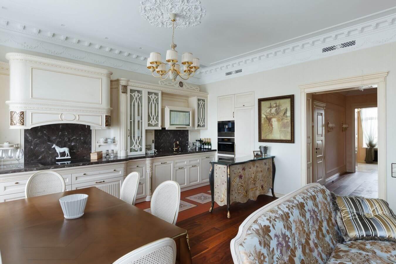 дизайн кухни гостиной фото