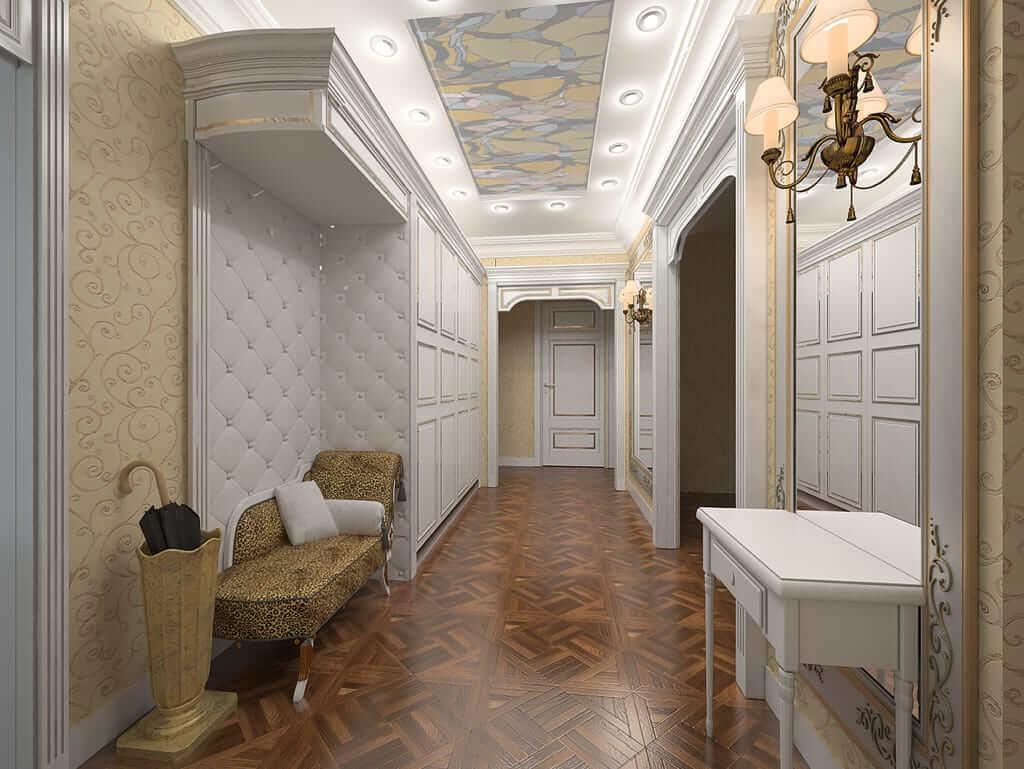 декорирование коридора