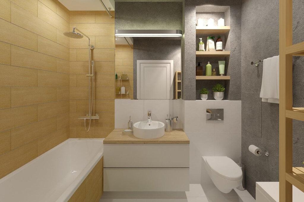 интерьер ванной комнаты для хрущевки фото