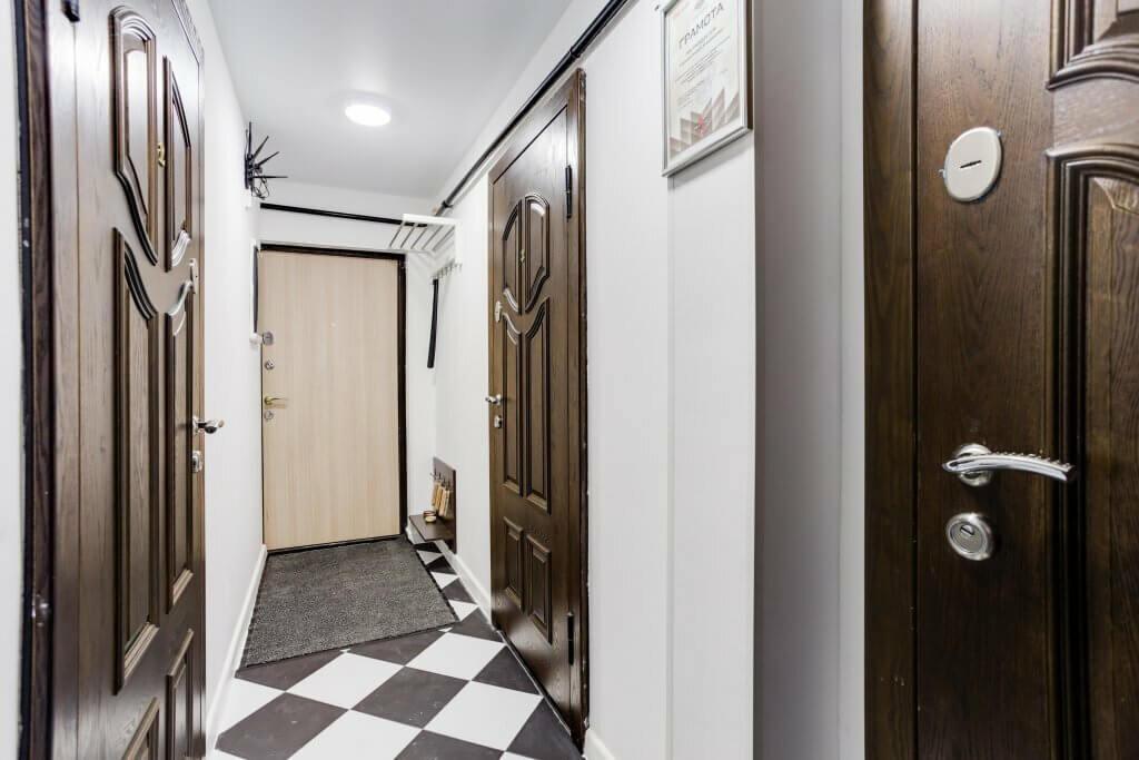 скандинавский стиль в интерьере коридора